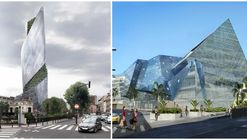 Studio Libeskind Wins Competitions for 2 New Projects in France