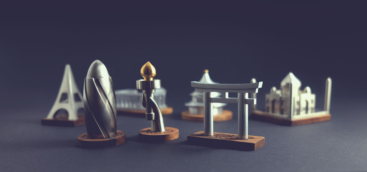 These Statuettes of Architectural Landmarks Offer a Stylish Alternative to Typical Souvenirs, Courtesy of Konstantin Kolesov
