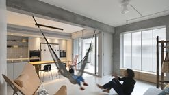 Backlight Apartment / 2BOOKS design