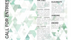 Call For Entries:  QUAD 2017 - An Installation for a Sustainable Social Space
