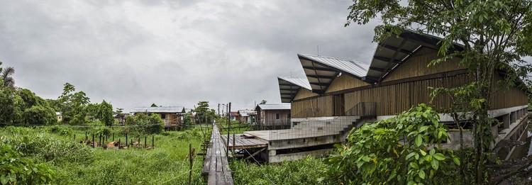 Instituição Educativa Embera Atrato Medio / Plan:b arquitectos. Imagem © Alejandro Arango