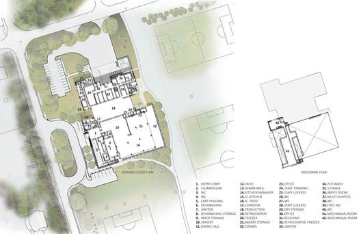 Site Plan - Mezzanine Plan