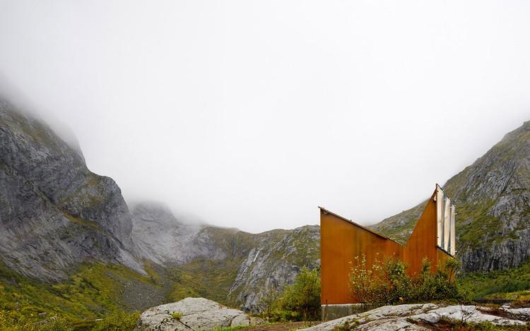 Reststop Akkarvikodden / Manthey Kula Architects. Imagem © Paul Warchol