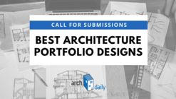 Call for Entries: The Best Architecture Portfolios