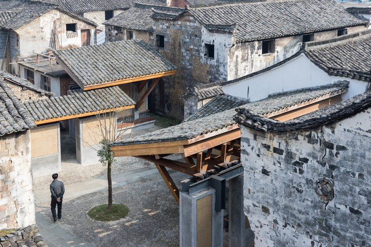 """Wang Shu: """"Architecture is Not Just an Object That You Place in the Environment"""", Amateur Architecture Studio, Regeneration of the Wencun village, 2016. Image © Iwan Baan. Image © Louisiana"""