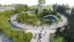BIG Designs Yin-Yang Shaped Panda Enclosure for the Copenhagen Zoo