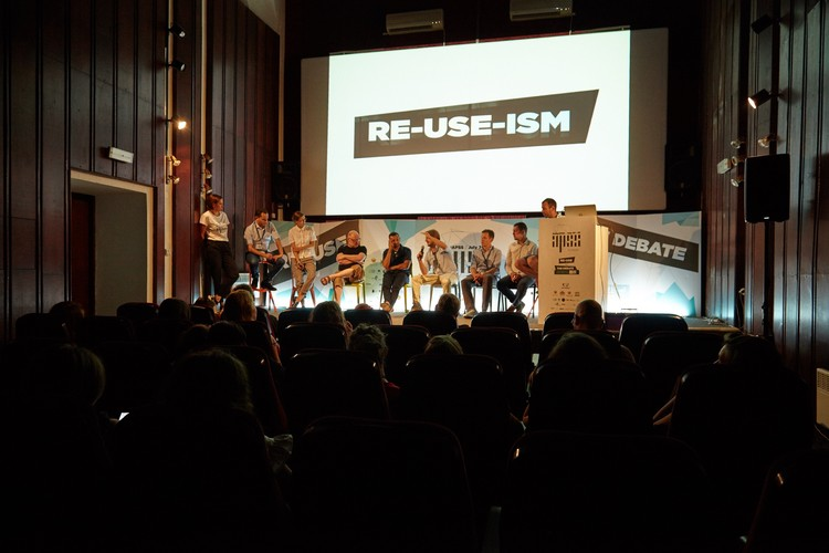RE-USE-ISM Conference 2016. Image by Luka Boskovic