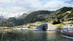 Snøhetta diseña en Noruega el primer túnel para barcos del mundo