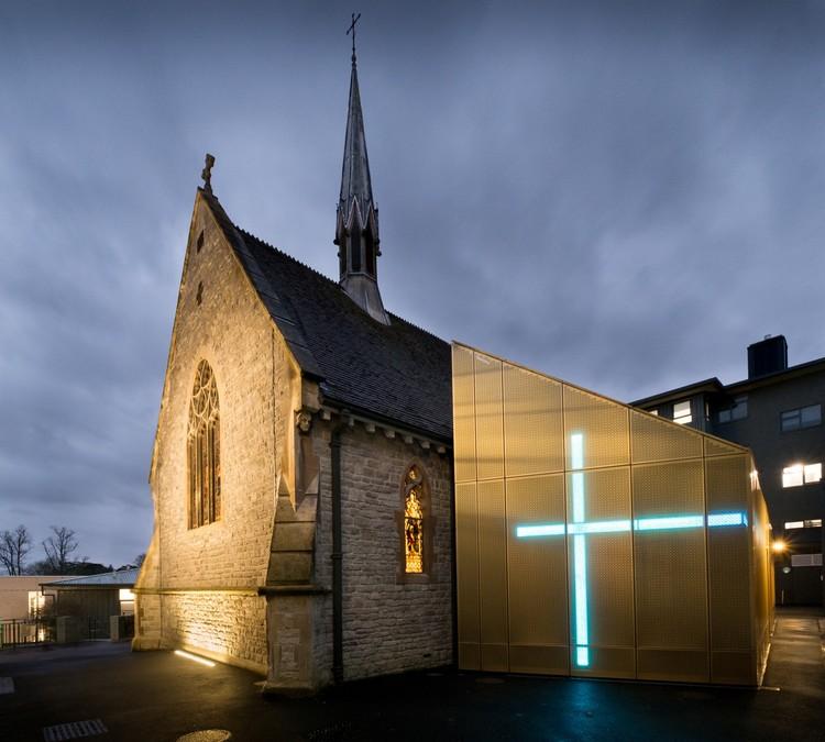 university of winchester winton chapel design engine