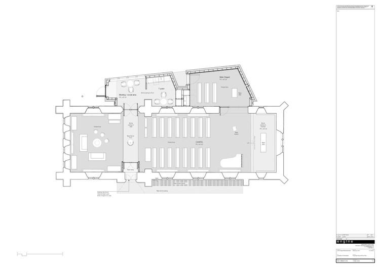 University of winchester winton chapel design engine for Small chapel floor plans