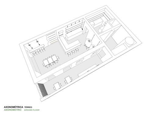 Axonometric Ground Floor