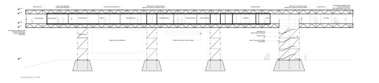 Cross section. Image Cortesía de BIVAK