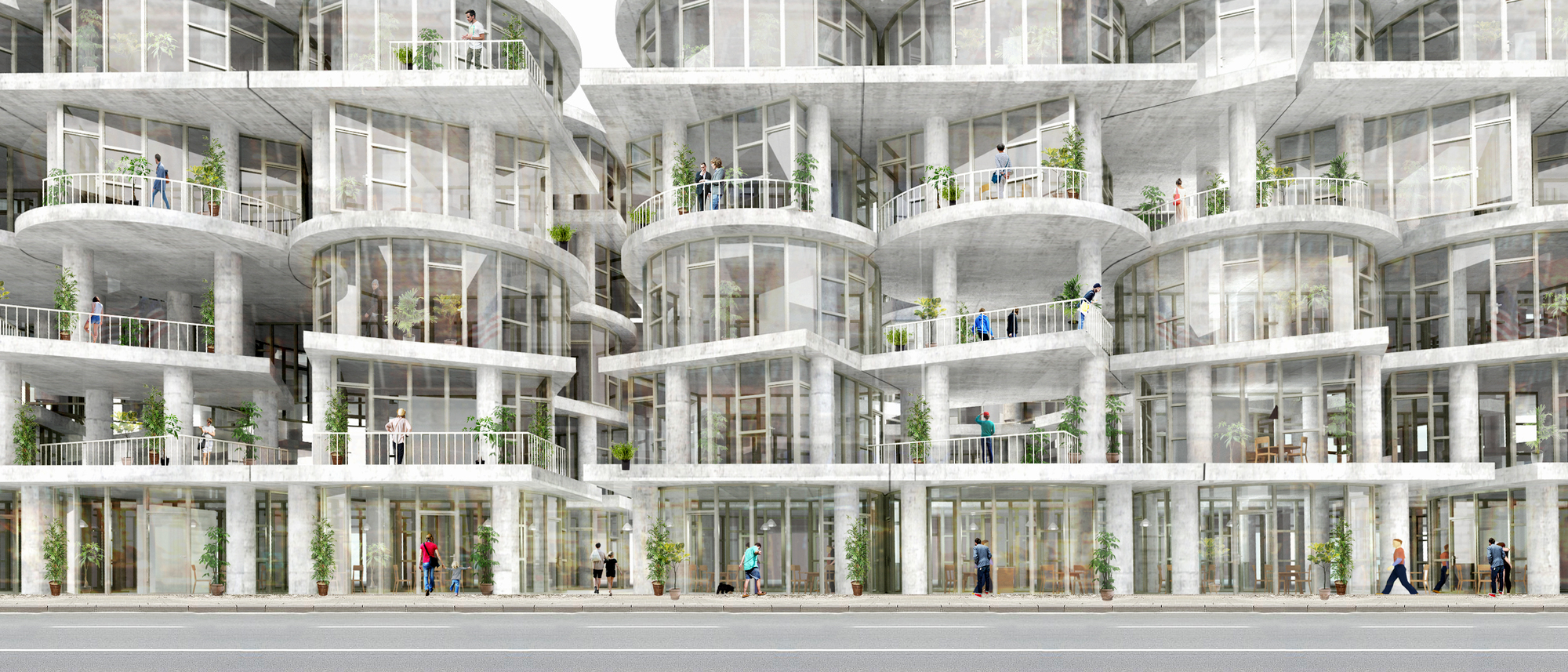 Bee breeders reveal new york affordable housing challenge for Apartment design competition