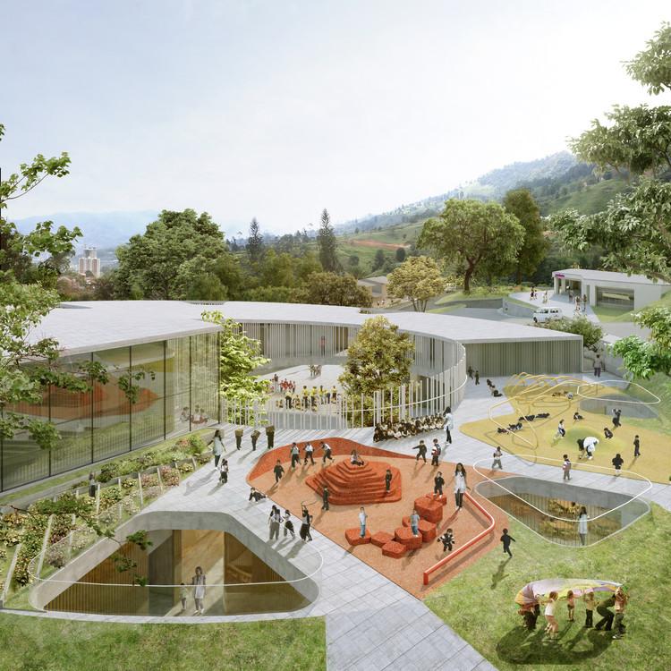 Arquitectura y espacio urbano primer lugar en dise o del for El jardin urbano