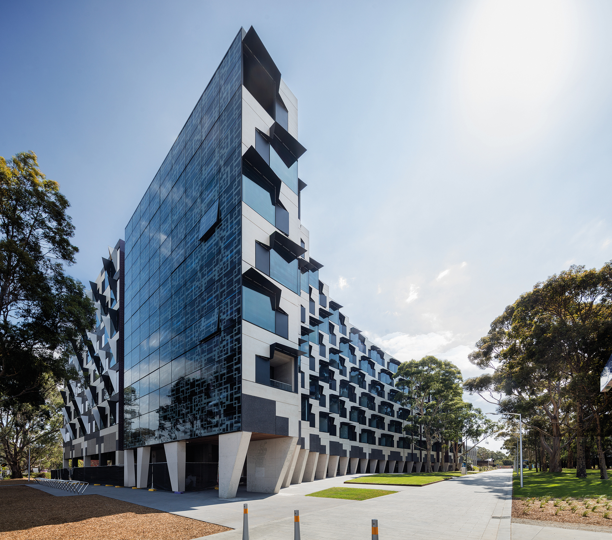 Monash university logan hall mcbride charles ryan for Define architect