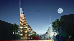 Hanging Gardens of Babylon-Inspired Residential Units Proposed for Birmingham