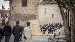 Instalaciones reinterpretan el casco antiguo de Logroño en Concéntrico 03, el Festival Urbano de Intervenciones Efímeras