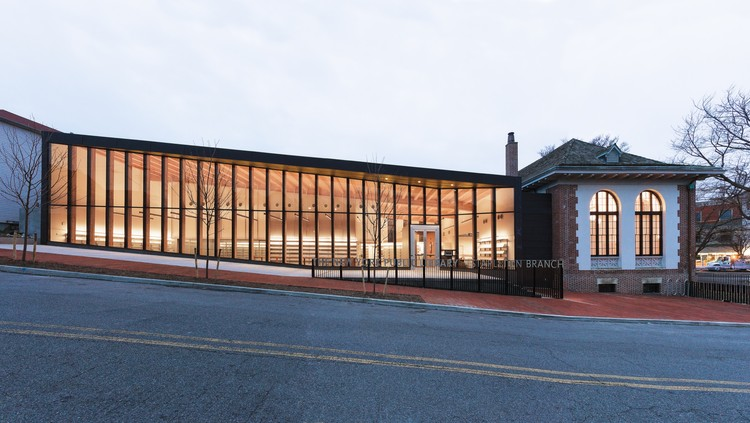 New York Public Library Stapleton Branch Renovation and Expansion / Andrew Berman Architect. Image © Naho Kubota