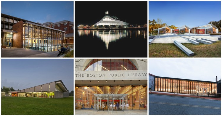 8 Exemplary Libraries Selected as Winners of 2017 AIA/ALA Library Building Awards