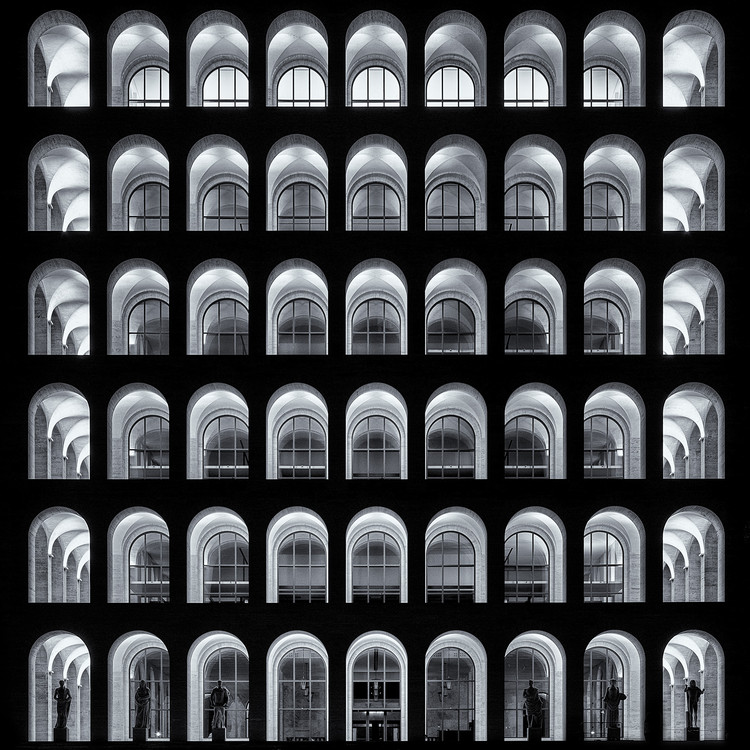 Lights Arches / Claudio Cantonetti, Itália. Image © Claudio Cantonetti, Italy, Shortlist, Open, Architecture (open), 2017 Sony World Photography Awards