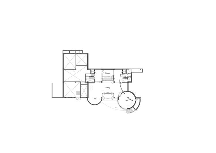 1st Basement Floor Plan