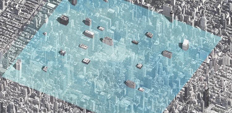 Parallel Manhattan / Zhiyong Dong, Jiongcheng Mou, Xiuping Han, Xingyu Liu. Cortesia de eVolo