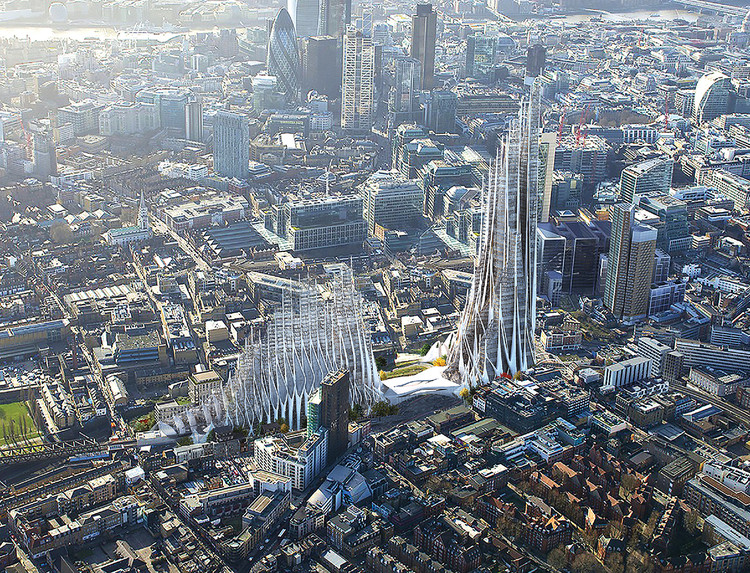 High Density Urban Order / Lisa Albaugh, Ben Bourgoin, Jamie Edindjiklian, Roberto Jenkins, Justin Oh. Cortesia de eVolo