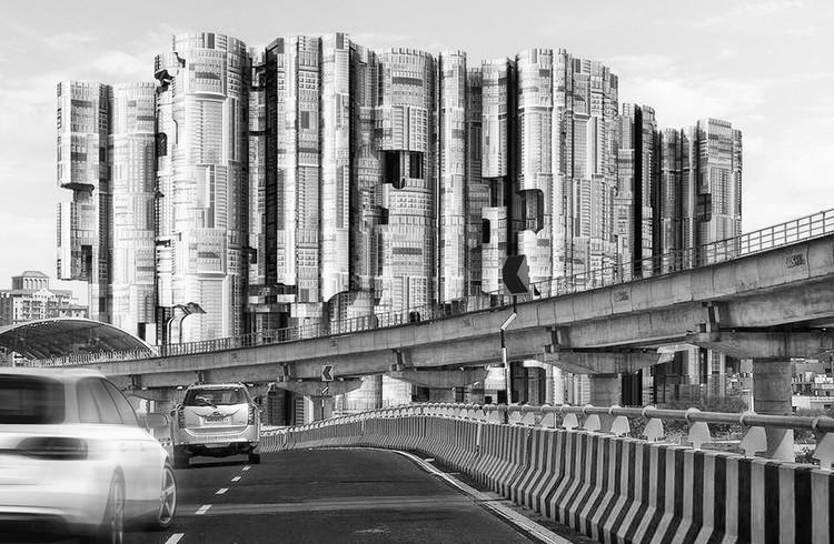 City Skyscraper / Jitendra Sawant. Cortesia de eVolo