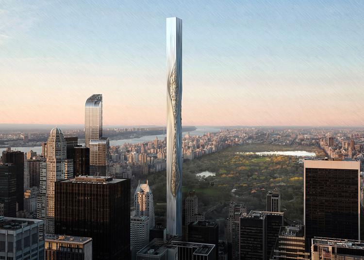 Flexible Materials Skyscraper / Fu Hao, Zhang Yunlong, Yang Ge. Cortesia de eVolo