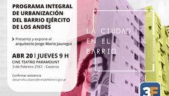 Lanzamiento del Programa Integral de Urbanización del Barrio Ejercito de los Andes, Argentina