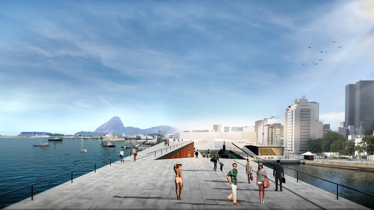 Museu Marítimo do Brasil integrará o circuito cultural da orla portuária do Rio de Janeiro, Museu Marítimo. Imagem: Divulgação