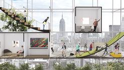 Esta propuesta busca aprovechar los derechos aéreos en Nueva York para construir vivienda social