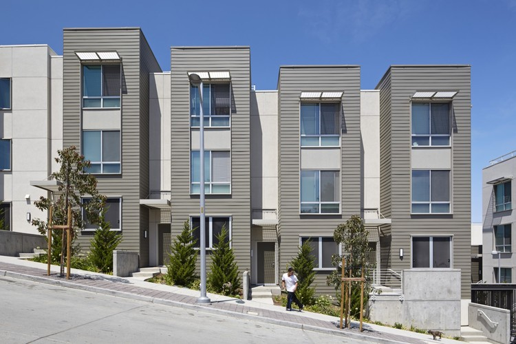 Hunters View Housing Blocks 5&6; San Francisco / Paulett Taggart Architects. Imagen © Bruce Damonte Photography