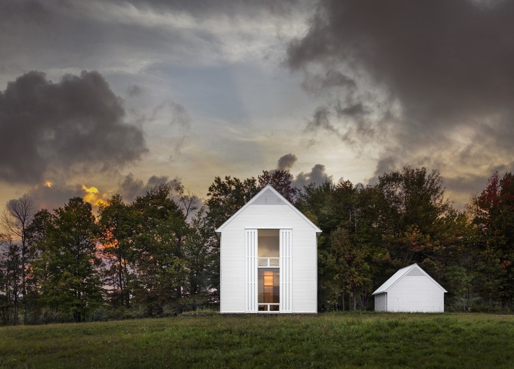 Pennsylvania Farmhouse; Lakewood, Pennsylvania / Cutler Anderson Architects. Imagen © David Sundberg