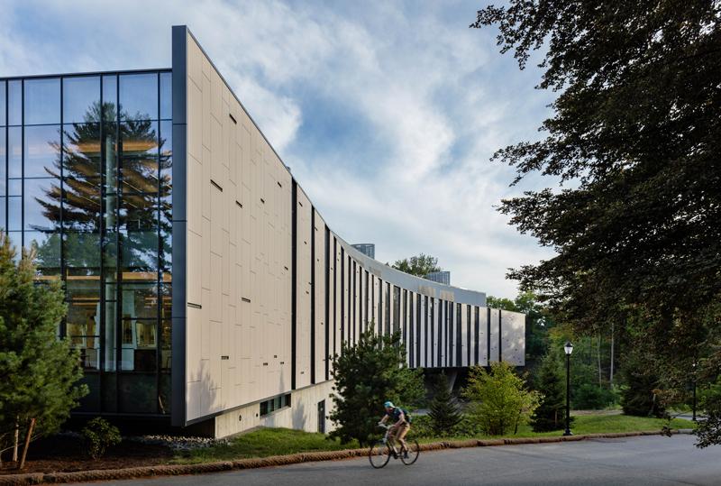 Bridge For Laboratory Sciences Vassar College Integrated Science Commons Poughkeepsie New York Ennead