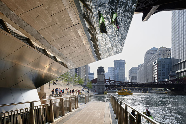 CHICAGO RIVERWALK; Chicago, Illinois / Ross Barney Architects. Image Courtesy of The American Architecture Awards