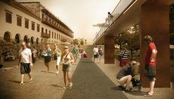 MOBO revela nuevas imágenes de los futuros enlaces peatonales en la ciudad amurallada de Cartagena