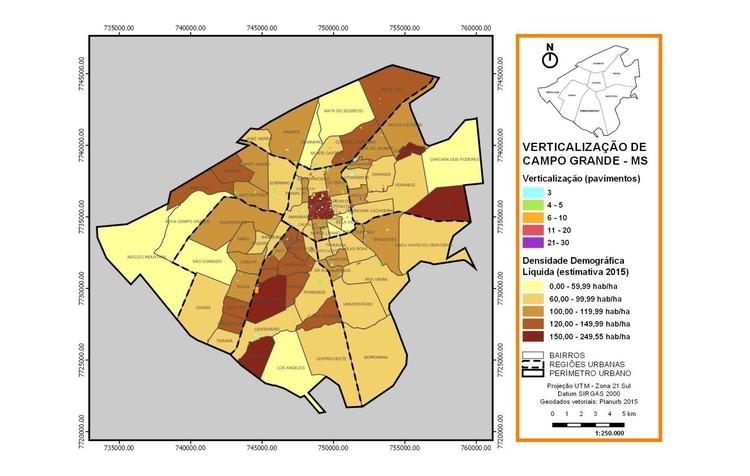 Análise de Campo Grande. Image © Observatório de Arquitetura e Urbanismo/UFMS