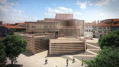 Kengo Kuma & Associates Unveils Stacked Timber Museum in Turkey