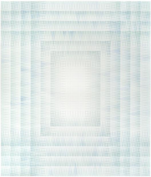 Francisca Benedetti presenta dibujos con acuarela y lápiz que exhiben una minuciosa geometría, Cortesía de Francisca Benedetti