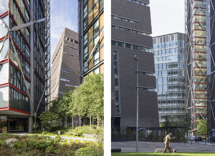 Neo-Bankside Residents Launch Legal Bid Against Herzog & de Meuron's Tate Modern Extension, The proximity of the two projects. Image © Laurian Ghinitoiu