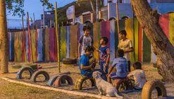 Se inaugura el Espacio Público Infantil 'Villa Clorinda de Málaga' en Comas, Lima
