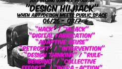 """DESIGN H(ij)ACK"" When Art/Design Meet Public Space"