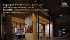 Con la exposición Despliegues y Ensambles se fortalece la relación entre la arquitectura y la comunidad