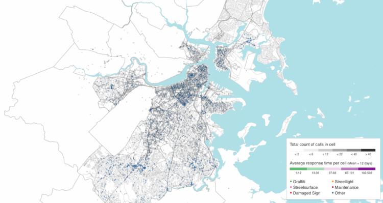 Boston 3-1-1. Image Courtesy of MIT Senseable City Lab