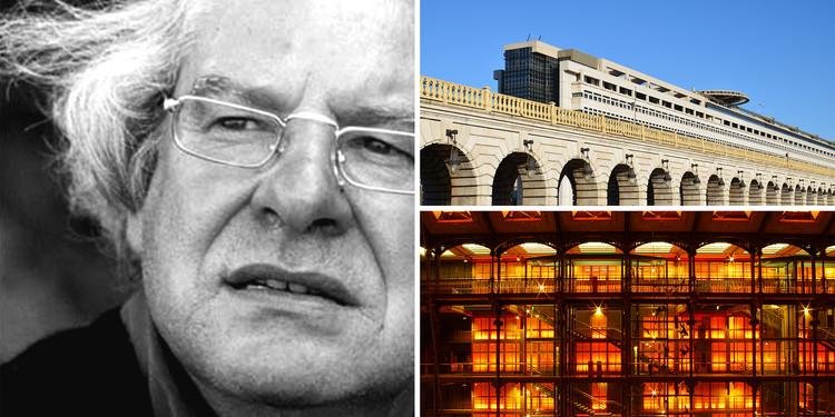 Borja Huidobro: 'No sé quién inventó que el Pritzker es el Nobel de los arquitectos', Borja Huidobro y dos de sus obras en París: el Ministerio de Finanzas (superior) y la restauración de la Gallerie de L'Evolution (inferior). Image © Elian Chrebor [Flickr] + novopress.info [Flickr], ambos bajo licencia CC BY-NC-ND 2.0
