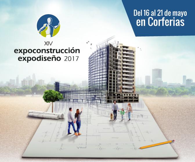XIV Expoconstrucción y Expodiseño 2017 en Bogotá, Colombia
