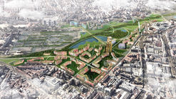 EMBT Unveils Proposal to Revitalize Seven of Milan's Disused Railway Yards