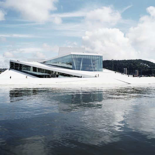Oslo Opera House / Snøhetta; Winner - Culture, 2008. Image Courtesy of World Architecture Festival