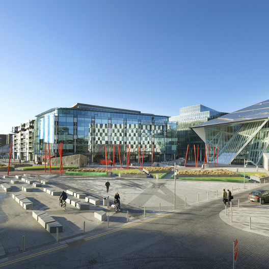 Grand Canal Theatre / Studio Daniel Libeskind; Shortlisted - Culture, 2010. Image Courtesy of World Architecture Festival